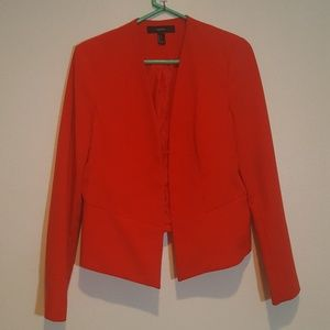Forever 21 red blazer, size large